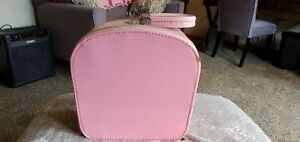 Vintage 1960s Pink Luggage Travel Cosmetic Case