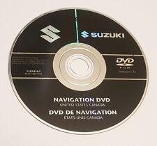 2007 2008 2009 SUZUKI XL7 XL PREMIUM SPORT NAVIGATION DVD MAP DISC U.S CANADA