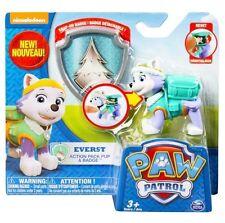 Paw Patrol Everest Badge Action Pup Genuine Licensed Nickelodeon Kids Gift Toy
