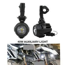 2XLED Moto Conducción Luz Coche Lámpara de Niebla Camión Faro Auxiliar Delantera