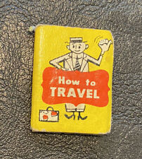 """1965 Aboard Ship #1631 """"How to Travel� Book by Mattel"""