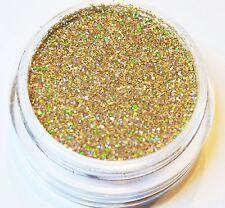 2,5g gold hologram puder Glitter 0,1mm fein