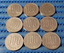 1975 Japan Year 50 Hirohito (Showa) 100 Yen (¥100) Flower Coin (Price Per Piece)