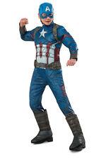 NEW Marvel Captain America Premium Costume  size 6-8