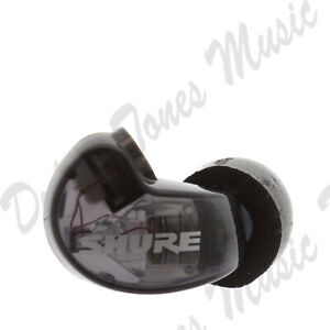 *NEW* Shure SE215 RIGHT EARBUD/DRIVER ONLY Black Earphone *FAST DELIVERY*