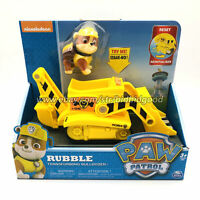 nickelodeon PAW Patrol Dog Rubble Transforming Bulldozer Model Vehicles Car Toy