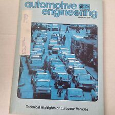 Automotive Engineering Magazine Fuel Systems, Corrosion January 1979 061217nonrh
