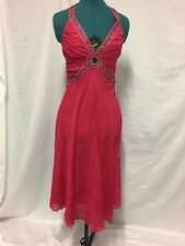BMWT. Seduce silk rose red dress in size 8