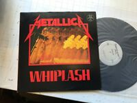 Metallica Whiplash LP Megaforce '85 mrs04 orig EP LP silver label slayer vinyl!!