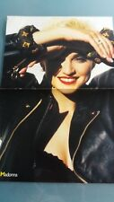 madonna  poster 2 pages ou was