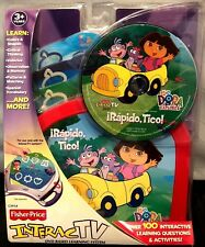 NEW Dora the Explorer Rapido Tico for Fisher Price InteracTV DVD Learning System