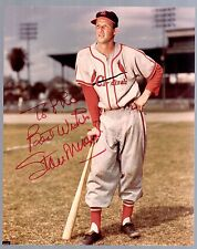 STAN MUSIAL  HOF Signed Autographed 8x10
