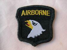 WW2 PATCH AMERICAIN 101 AIRBORNE Parachutiste