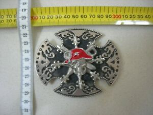 Belt Buckle.   Skull and daggers  Sell for Charity