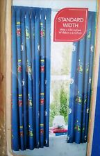 """BNWT George Home Heroic Knight Lined Curtains pair with tie back W66"""" x L54"""""""