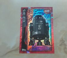 topps uk star wars rogue one C2-B5