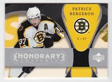 2007-08 NHL Upper Deck Trilogy Honorary Swatches Jersey # HS-PB Patrice Bergeron