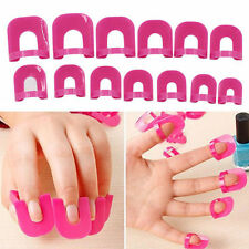 26Pcs/Set Manicure Nail Art Spill-Resistant Finger Cover Nail Polish Mold Shield