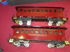 2 Classic Model Trains, Standard Lines Passenger Cars (A)