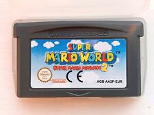 SUPER Mario World 2 Bros Nintendo Gameboy SP GBA Game Boy Advance Micro Piattaforma