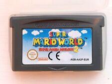 Super Mario World 2 Bros Nintendo Gameboy SP GBA Game Boy Advance Micro Platform