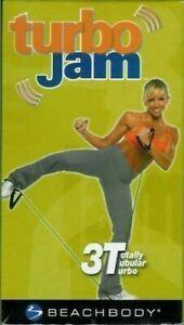 DVD - Turbo Jam 3T Workout Beachbody Chalene Johnson Body Sculpting Kickboxing