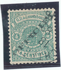 Luxembourg 1875  OFFICIAL Sc# 013  - used  / Mi Dienstmarken  no 12  l  - VF