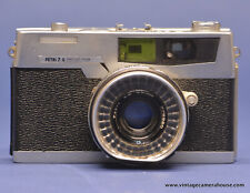 Petri 7 S 35mm Rangefinder Camera with 45mm f/2.8 Lens - Works Well