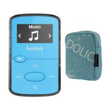 SanDisk 8GB Clip Jam MP3 Player Blue Bundle