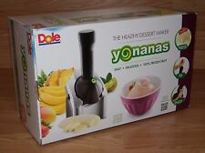 Dole Yonanas (901) Negro/Plata Frozen Saludable Postre Maker - Soft-Serve Maker