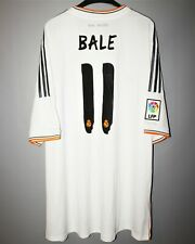REAL MADRID SPAIN 2013 2014 HOME FOOTBALL SHIRT JERSEY #11 BALE CAMISETA ADIDAS