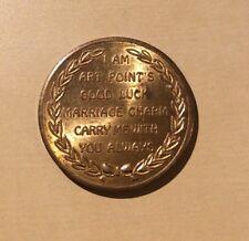 Art Point's Good Luck Marriage Charm Medallion BU