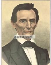 CURRIER and IVES Abraham Lincoln 1952 Print Portrait
