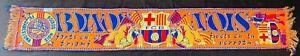 Écharpe Boixos Nois Barca Barcelone vintage Barcelona football scarf soccer FCB