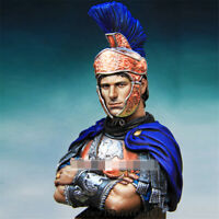 1/10 Rome Forbes warrior Resin Kits Unpainted Bust Model GK