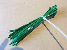 Cable Ties. 4.8 X 200mm. Bundle Of 50. Green
