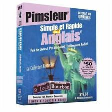 Pimsleur Simple et Rapide Anglais Audio Book [CD]  French Edition  20  EXLIBRARY