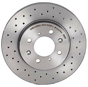 Brembo Xtra Front Drilled Brake Disc Rotor for Acura Integra Honda Civic del Sol