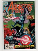 Avengers West Coast #93 Hawkeye Spider Woman Scarlet Witch Darkhawk 9.4