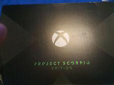Microsoft Xbox One X Project Scorpio Edition, 1TB, Schwarz Spielkonsole