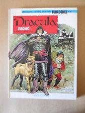 DRACULA L'UOMO Wood & Salinas Book Cartonato Euracomix n°40 [MZ11-1]