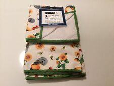Dish Cloth  Kitchen Towel, Dish Cloth , Scrubber Cloth    SET OF 3