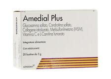 AMEDIAL PLUS 20 BUSTINE - INTEGRATORE CARTILAGINI - ALFASIGMA GLUCOSAMINA + MSM