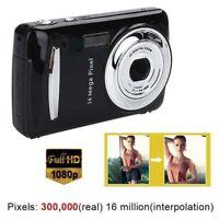 Mini Compact Digital Camera 16MP 1080P HD 2.4''TFT LCD Camcorder DV Video Gifts