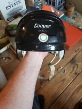 Cooper SK600 Ice Hockey Helmet Black SK 600 Hurling vtg Rare Canada