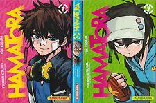 HAMATORA The comic tomes 1 à 3 Kitajima Komada MANGA seinen SERIE COMPLETE