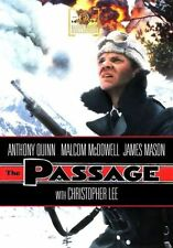 THE PASSAGE (1979 Anthony Quinn, Malcolm McDowell) - Region Free DVD - Sealed