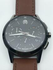 MOVADO Museum Sport Chronograph Quartz Black Dial Men's Watch 0607290