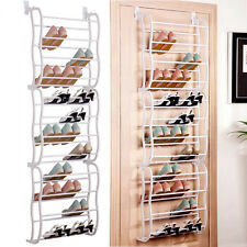 Hanging Shoe Rack Over the door 36 Pair Closet Space Saver Organizer Storage