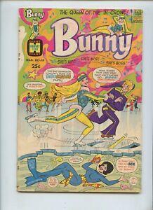 Bunny #18 (1971) Harvey Teen Giant GD/VG
